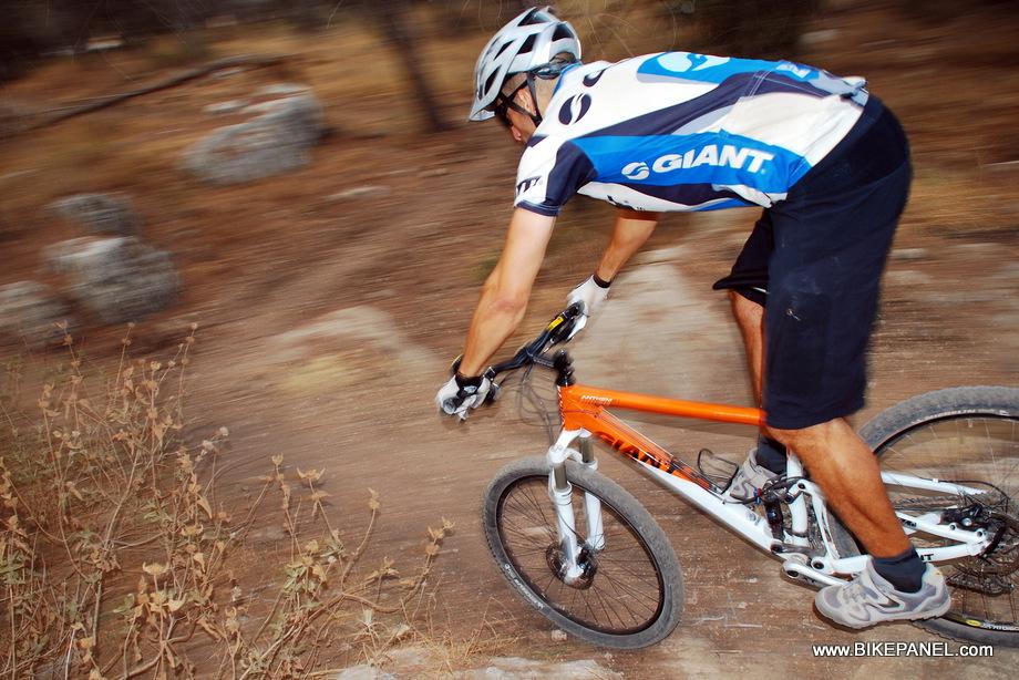 ה- Trance X1 מקנים בטחון ואחיזה בירידות מהירות וטכניות