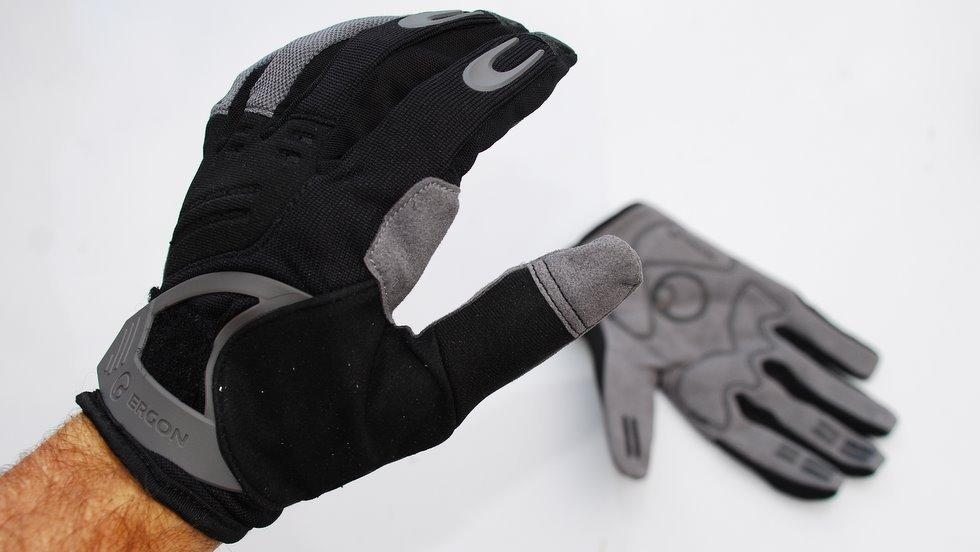 מבחן לכפפות ארוכות וגריפים - Ergon