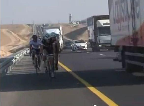 וידאו: כתבה של ערוץ אחד על רכיבת כביש בישראל
