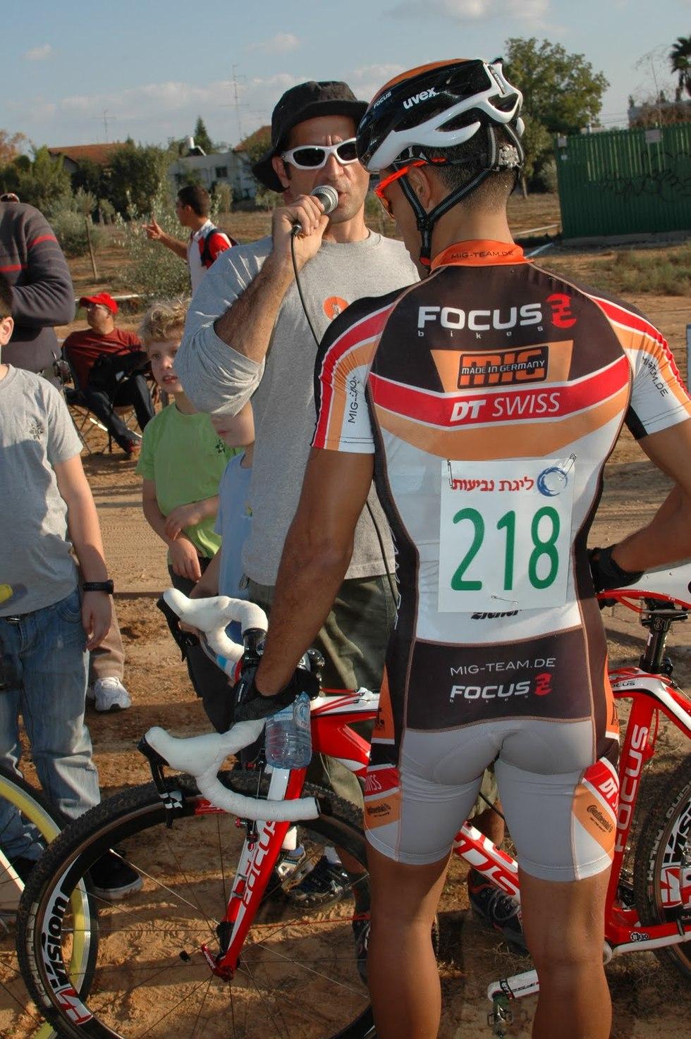 על המאמץ להרמת תחום ה Cyclocross בישראל, התחרות בסביון, והתחרות הקרובה בתל אביב
