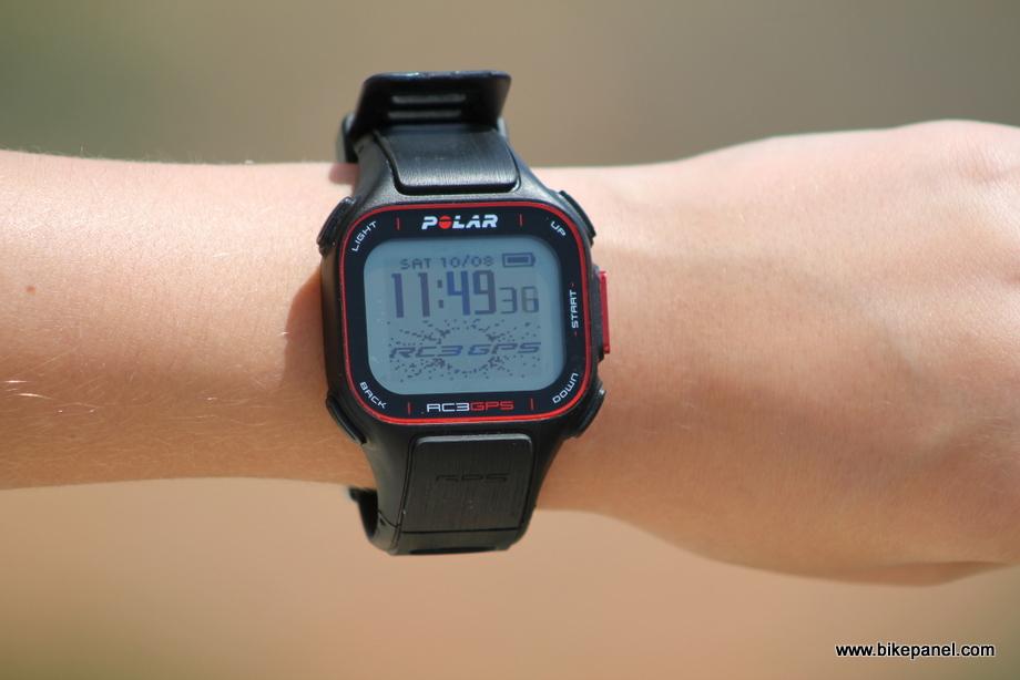 שעון מולטיספורט GPS מדגם פולאר RC3