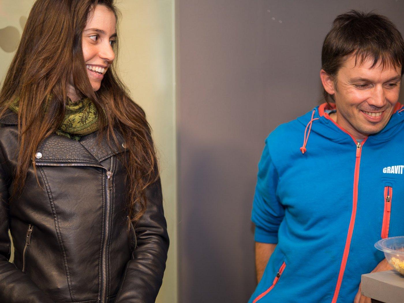תמונה: ויקטור ומרים באירוע השקת הקבוצה