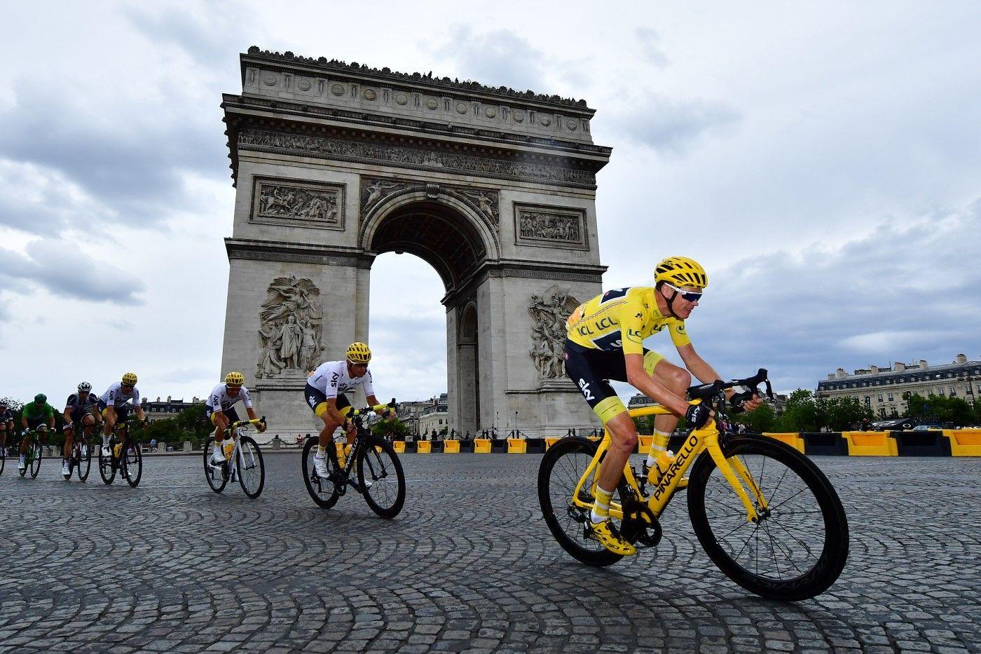 Tour de France 2017 - 23/07/2017 - Etape 21 - Montgeron / Paris Champs-Elysees (103 km) - France - Christopher FROOME (TEM SKY)