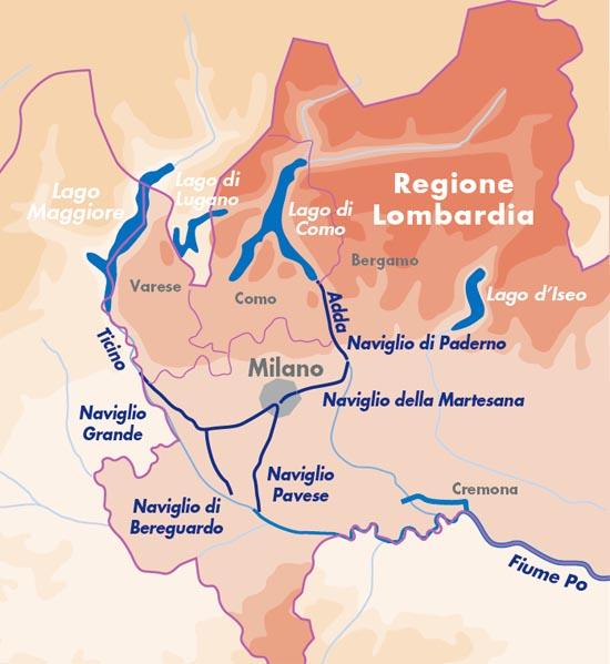 מפעל התעלות בלומברדיה
