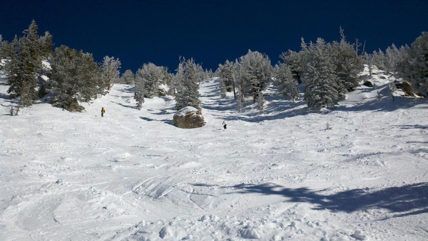 הפתרון החלקי, סקי (Alta, Utah)