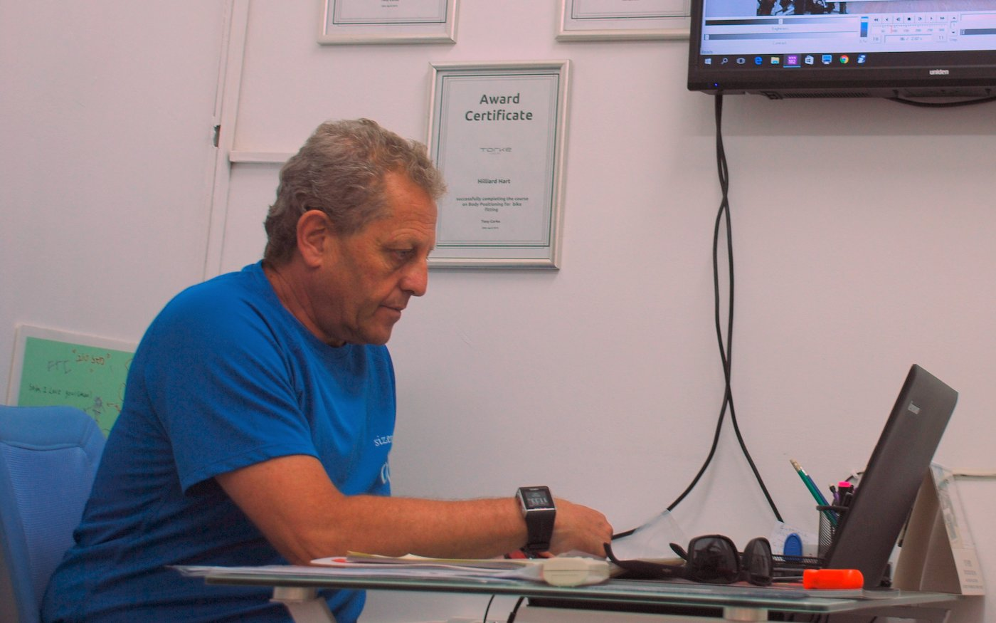 היליארד בניתוח ממוחשב של הרוכב המדווש