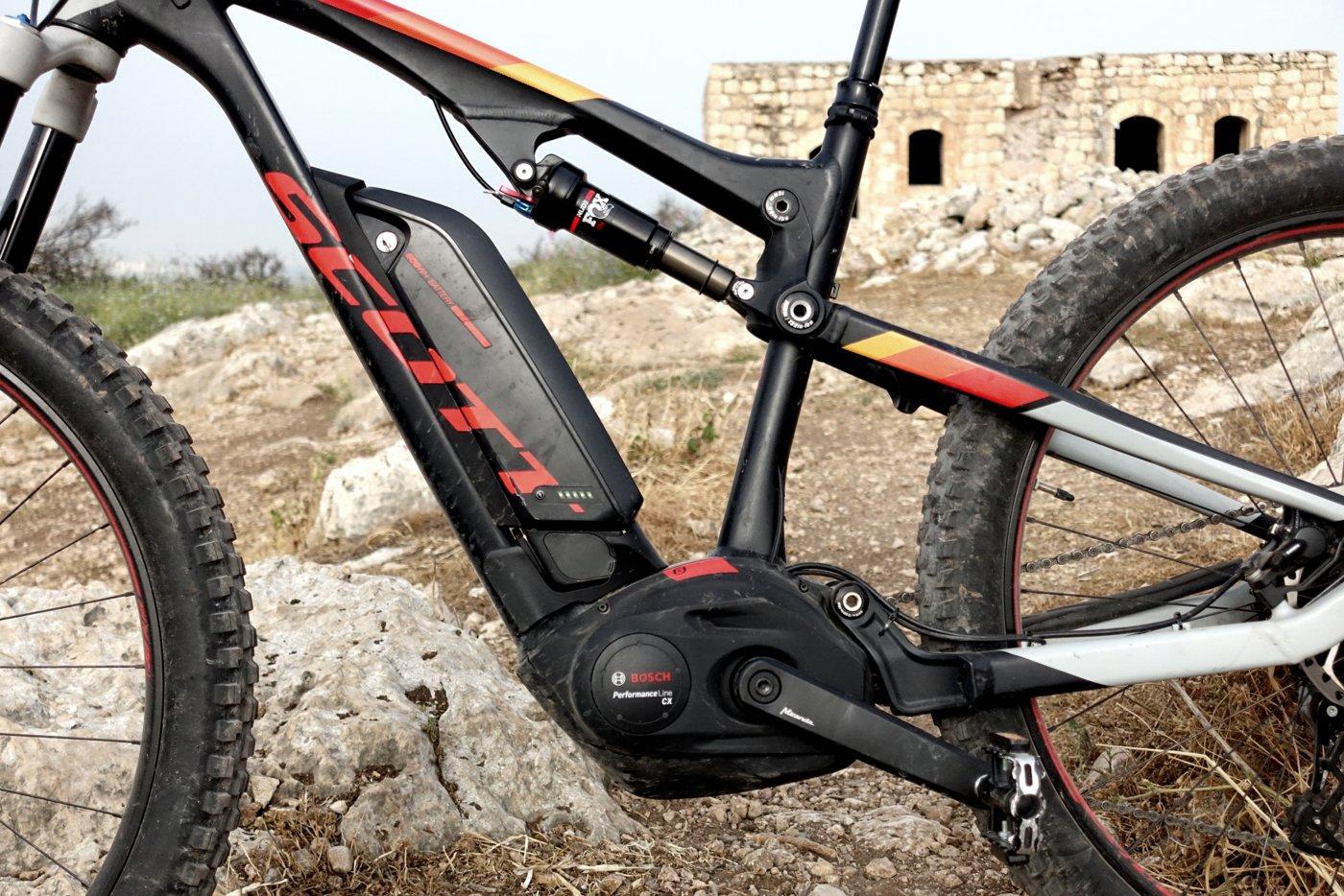 Scott E-Genius - אופני הרים חשמליים