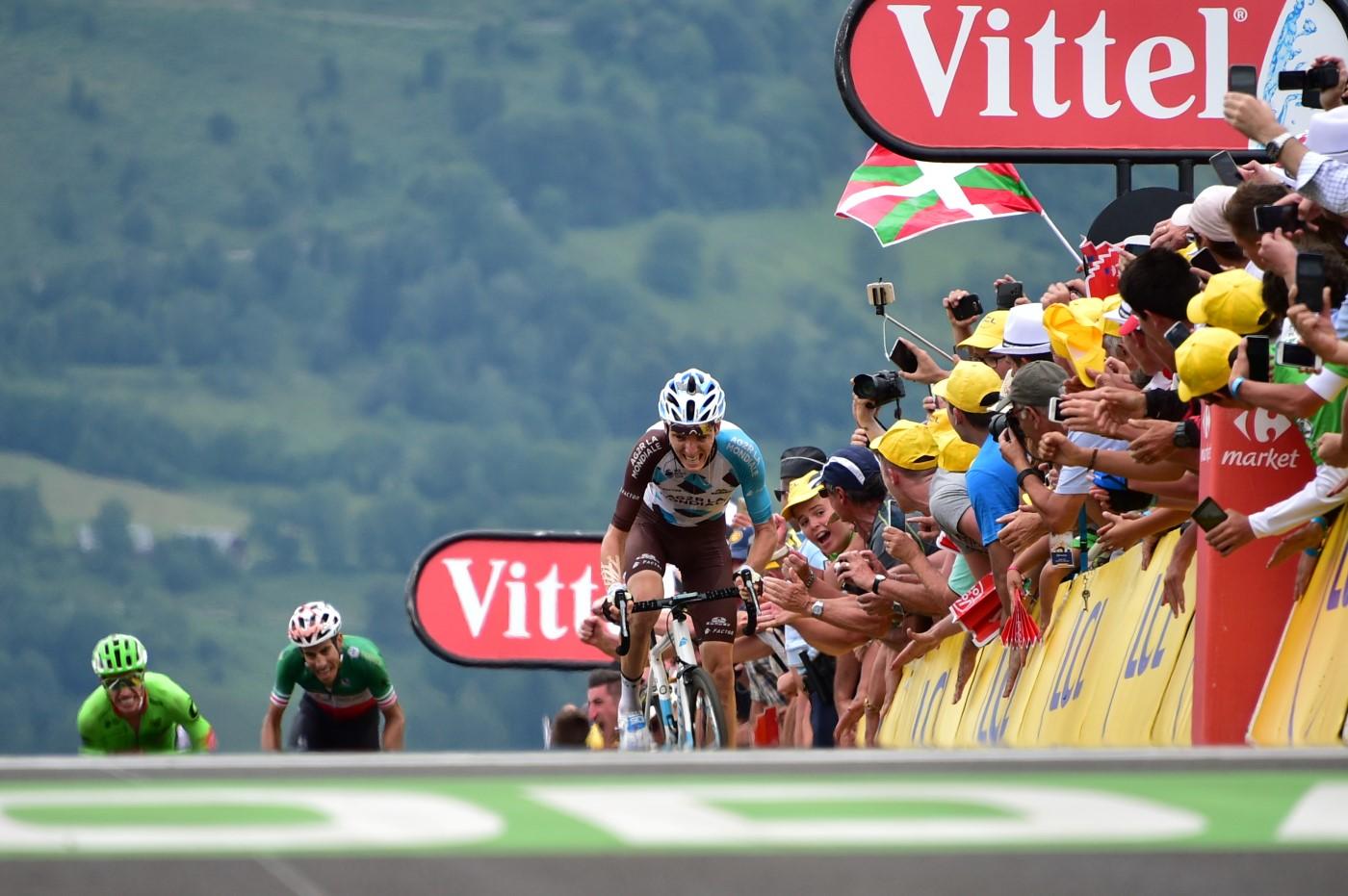 Tour de France 2017 - 13/07/2017 - Etape 12 - Pau / Peyragudes (214;5 km) - France - Romain BARDET (AG2R LA MONDIALE) - Victorieux a Peyragudes