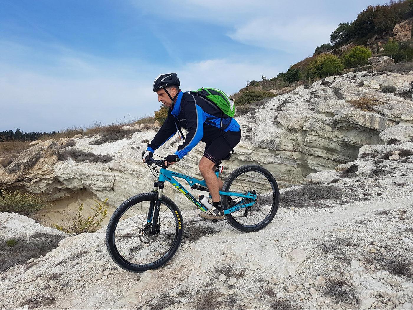 טיול אופניים בחול