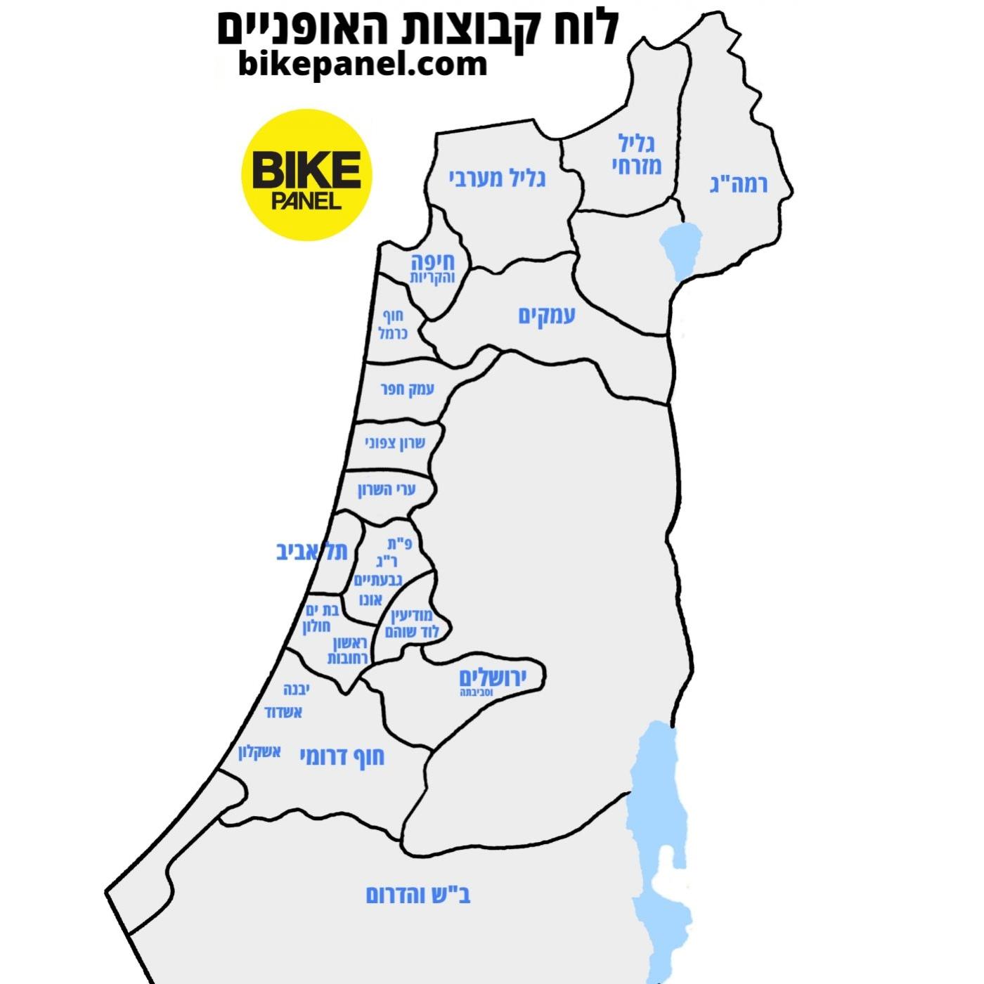 לוח קבוצות האופניים