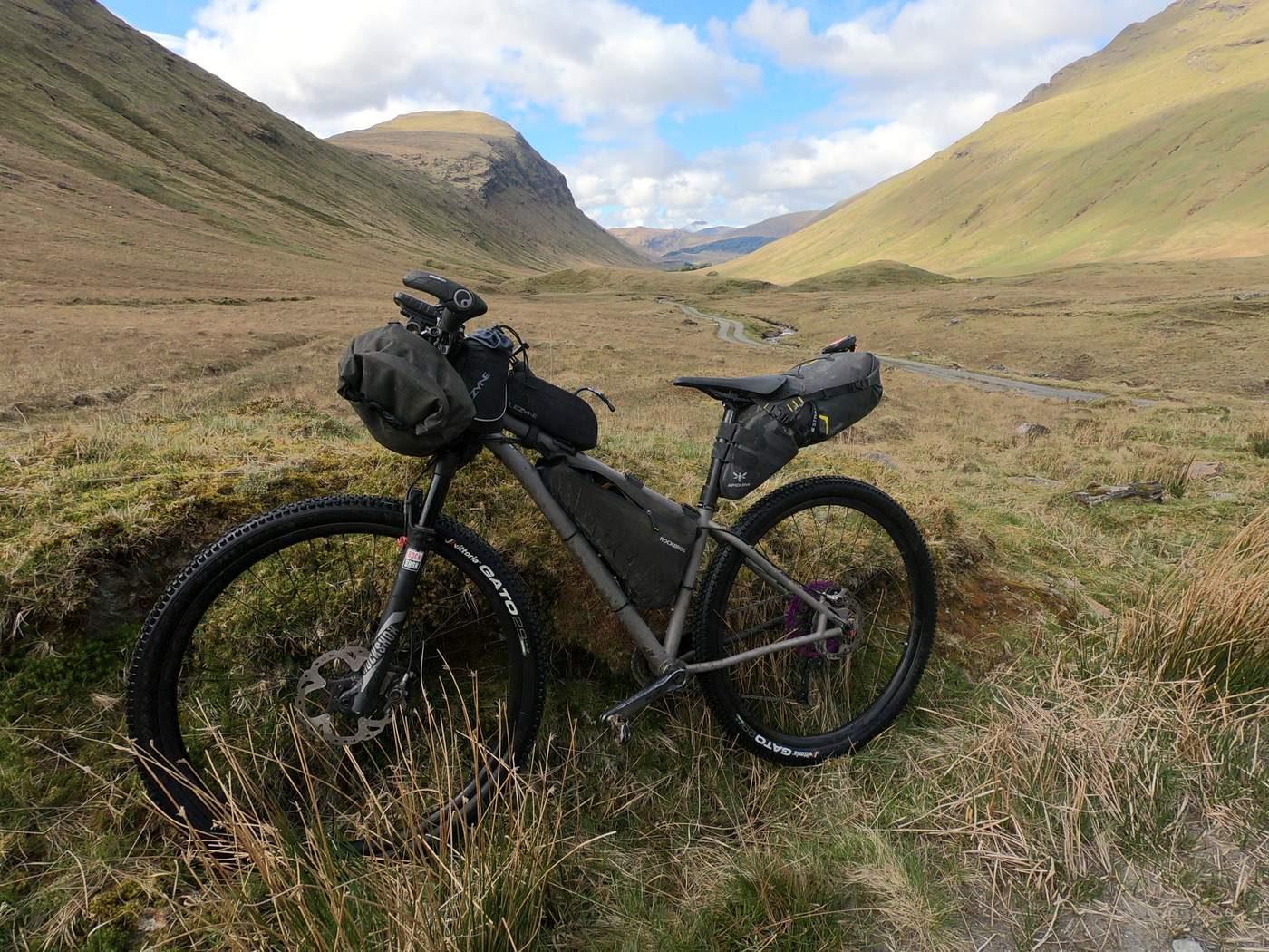אופניים בסקוטלנד