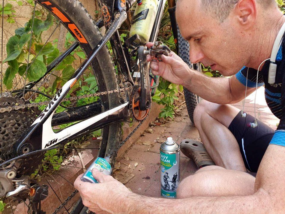 איך משמנים אופניים