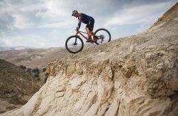 ואדי קלט על אופני הרים חשמליים