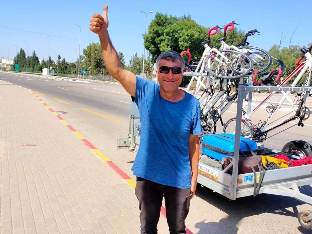 קבוצת אופניים ללקויי ראיה