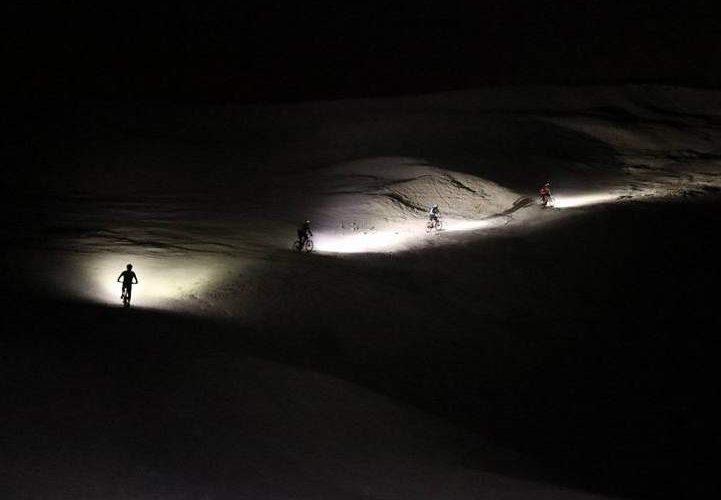 מסלולים רכיבות לילה