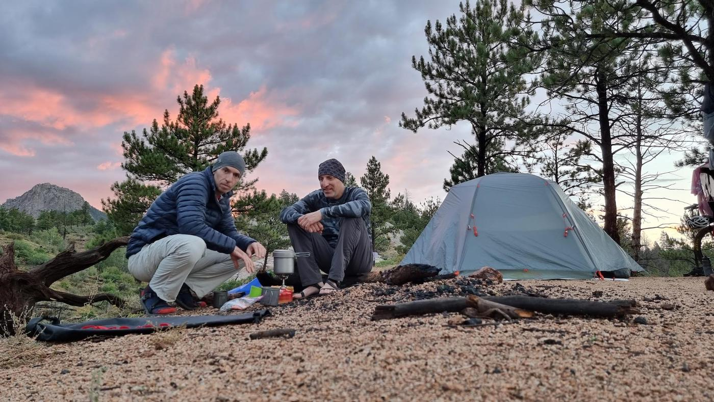 קמפינג בקולורדו